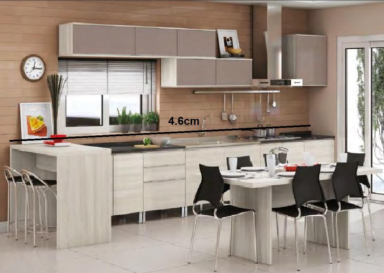 Cozinha Completa Versatti Kappesberg Bancada Armários Balcões  #A62925 1112 790