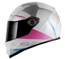 Capacete LS2 FF358 Tyrell White Pink
