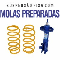 Suspens�o Fixa com Molas - C4 Hatch