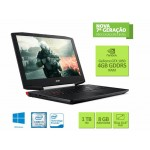 Notebook Acer Aspire VX5-591G-54PG Intel i7 7300HQ, 8GB RAM, 1TB, WEBCAM, WIN, GTX 1050 4GB