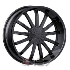 Roda Vision Wheels Xtacy Black Aro 24