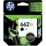 Cartucho HP 662XL Preto CZ105AB 6,5ML