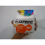Cartucho HP 901 Maxprint Color 15ML