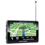 "GPS Multilaser Tracker 3 GP036 c/ Tela TouchScreen 5""/ TV Digital/ Rádio FM/ Caneta Touch Pen/ Entrada MicroSD - Preto"