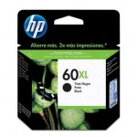 Cartucho HP CC641WL 60XL Preto 12ML