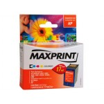 Cartucho HP 22 C9352A Maxprint Color 17ML