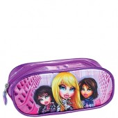 Estojo Escolar | BRATZ | Cole��o The Fashion Girls | 1U08 | Bord�