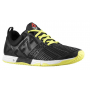 T�nis Reebok Masculino CrossFit Sprint Trainer Preto com Amarelo - Black/High Vis Green/White