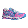 Asics Kayano 19 Feminino Rosa com azul - Flash Pink/Grape/White