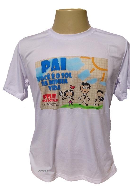 Camiseta Dry Fit 100% Poliéster branca para Sublimação (o melhor ... ed960cefc41