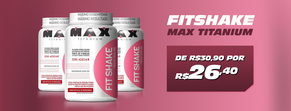 Fit Shake Max Nutrition