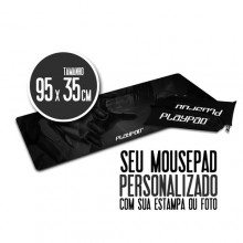 Mousepad Gamer PLAYPAD 100% Personalizado - EXTENDED