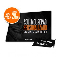 Mousepad Gamer PLAYPAD 100% Personalizado - HGP