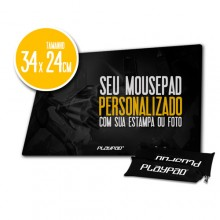 Mousepad Gamer PLAYPAD 100% Personalizado - BGP