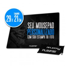 Mousepad Gamer PLAYPAD 100% Personalizado - NGP
