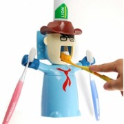 Cowboy Dispenser de Pasta de Dente