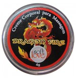 Pomada Excitante Dragon Fire Luby 4g