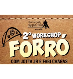 Workshop de Forró com Jotta JR e Fabi Chagas 24/09/2017