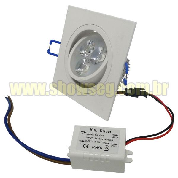 Lâmpada Super LED Branco Quente / Branco Frio 4W - Direcionável - Fonte Gratis cod. IDPROD_1685 - BARCODE_SH6972 / SH6971