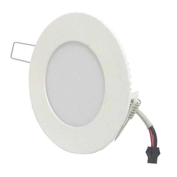 Lampada de Led com base Spot Ultra Slim 3W Redondo cod. IDPROD_2355 - BARCODE_SH7910 / SH7911