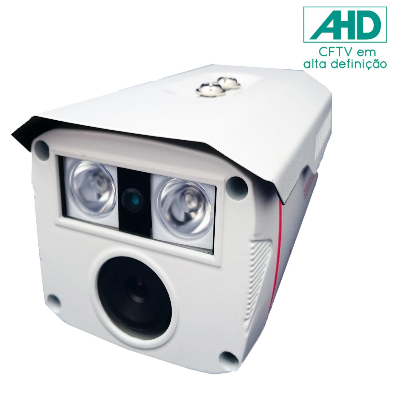 Câmera de Segurança AHD com Infra 1080P Resolução FULL HD 1.3 MP Lente 6mm - JT - 6209AHD cod. IDPROD_2866 - BARCODE_SH2320