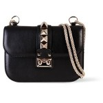 Bolsa Val. Lock Rockstud-Trim Flap Black