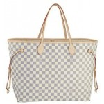 Bolsa Louis Vuitton Neverfull Damier Azur MM