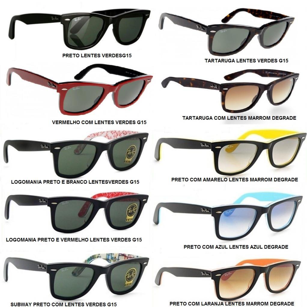 gafas ray ban wayfarer tamaños