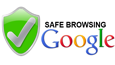 Selo Google SafeBrowsing