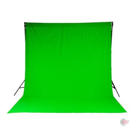Fundo Infinito Verde Color 2x3M Algodão Verde - Godox
