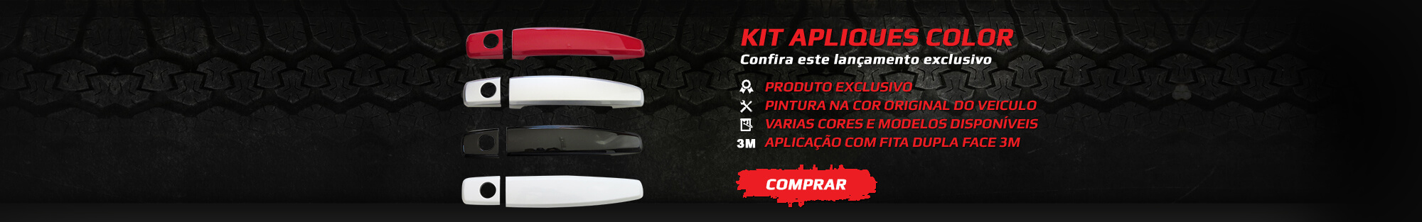 Kit apliques color - Confira este lan�amento exclusivo