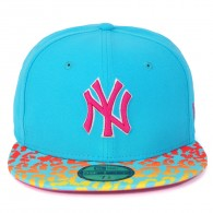 Bon� New Era Crackle Vize New York Yankees MLB 59FIFTY Azul
