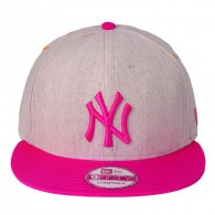 Bon� New Era Strapback New York Yankees 9Fifty Bege / Pink