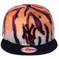 Bon� New Era Snapback New York Yankees 9Fifty  Tigre Marrom / Preto