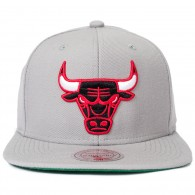 Bon� Mitchell and Ness Snapback Chicago Bulls Cinza