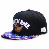 Bon� Cayler And Sons Snapback Wake Preto