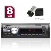 Auto Radio Mp3 Player Automotivo Multilaser Soul + Pendrive 8gb Mini