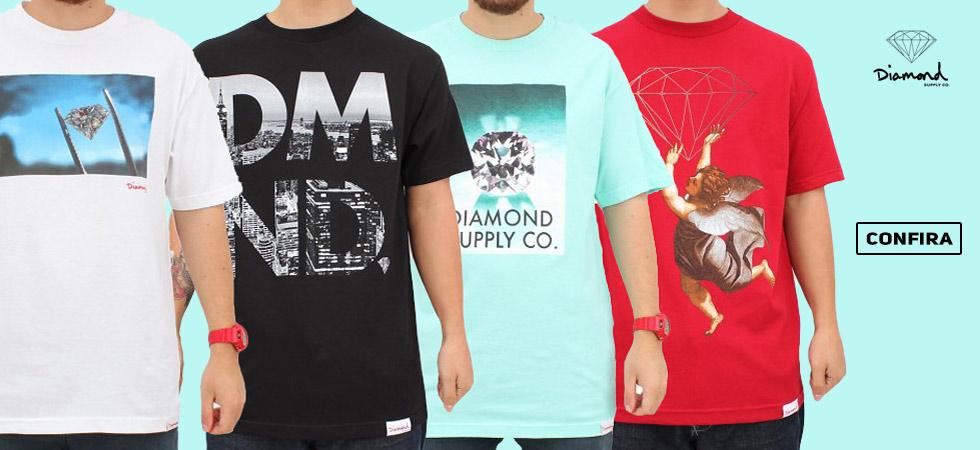 Camisetas Diamond Supply Co