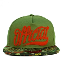 Bon� Official Strapback Script Green/Printed/Red