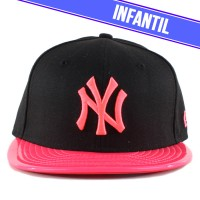 Bon� New Era 9FIFTY Youth Snapback New York Yankees Black/Pink