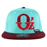 Bon� Official Snapback Oz Green/Wine
