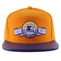 Bon� Starter Snapback Five Panel New Haven Orange/Purple