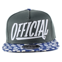 Bon� Official Snapback Script Lead/Printed/Blue