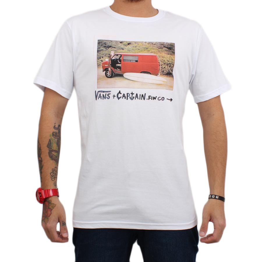 Camiseta Vans Van Onof White - Van Onof
