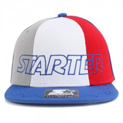 Bon� Starter Snapback Tri Power Blue/Grey/White/Red