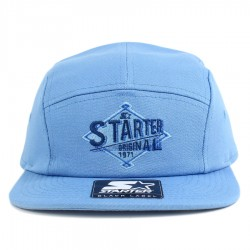 Bon� Starter Strapback Five Panel Chino Blue