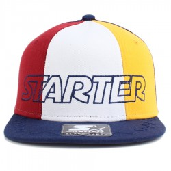 Bon� Starter Snapback Tri Power Navy/Wine/White/Yellow