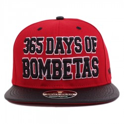Bon� Skill Head Snapback 365 Days Of Bombetas Red/Black