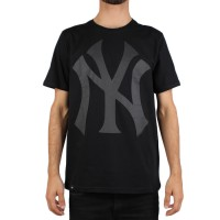Camiseta New Era New York Yankees Black/Black