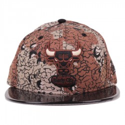 Bon� New Era 59FIFTY Chicago Bulls Brown Printed/Black